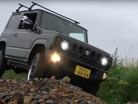 Check out the Suzuki Jimny (New Maruti Gypsy) Doing What It Does Best