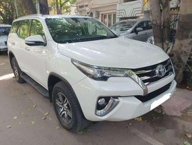 Used 2017 Toyota Fortuner 3.0 4x2 AT for sale in Chennai