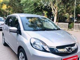 2015 Honda Mobilio S i-DTEC Petrol MT for sale in New Delhi