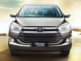 Toyota Innova Crysta is an MPV Like None Other - Here's Why