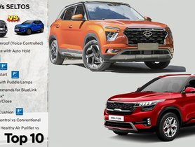 2020 Hyundai Creta Gets 10 Features That Kia Seltos Doesn't