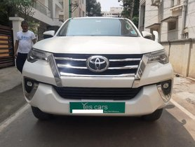 Used 2018 Toyota Fortuner 2.8 4WD MT for sale in Bangalore