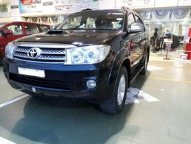 Used Toyota Fortuner 2011 MT for sale in Chennai