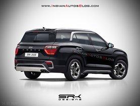 New Hyundai Creta 7-seater Imagined Digitally [Updated]
