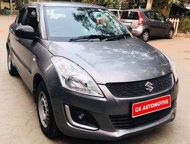 2017 Maruti Suzuki Swift LXI Opt Petrol MT for sale in New Delhi