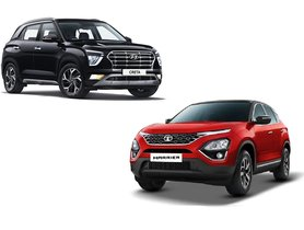 2020 Hyundai Creta Gets 10 Features That Tata Harrier Doesn't