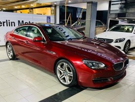 Used BMW 6 Series 640d Coupe 2013 AT for sale in Pune