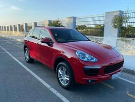 Used Porsche Cayenne 2016 Diesel AT for sale in Chennai