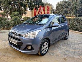 2013 Hyundai Grand i10 Sportz Petrol MT for sale in New Delhi
