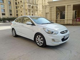 Hyundai Verna 2013 AT for sale in Thane