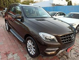 Used 2013 Mercedes Benz M Class AT for sale in Ahmedabad