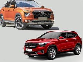 2020 Hyundai Creta Offers More Mileage Than Kia Seltos