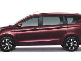 Suzuki Ertiga Gets Bigger Touchscreen And Diamond Cut Alloy Wheels