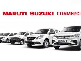 Maruti Suzuki Commercial Range Now Includes Alto, Ertiga, Dzire, Eeco and Celerio-based 'Tour' Models