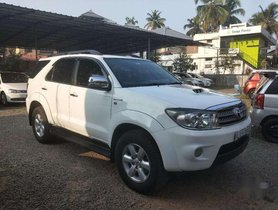 Toyota Fortuner 2010 MT for sale in Kochi