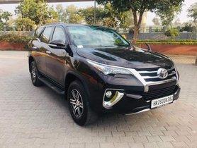 2017 Toyota Fortuner 2.8 4WD AT Diesel in New Delhi