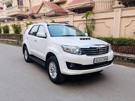 2014 Toyota Fortuner 4x2 AT DIesel for sale in New Delhi