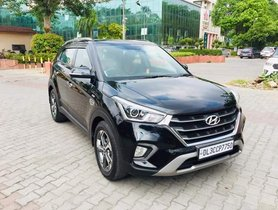 2018 Hyundai Creta 1.6 SX Petrol AT for sale in New Delhi