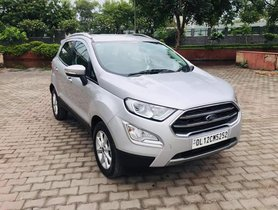 2017 Ford EcoSport Titanium Petrol MT for sale in New Delhi