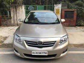 2011 Toyota Corolla Altis G Petrol MT for sale in New Delhi