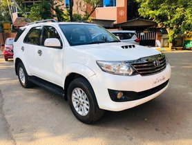 2014 Toyota Fortuner 4x2 Manual MT for sale in Bangalore