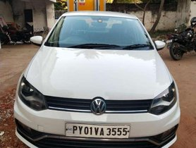 Used 2016 Volkswagen Ameo MT for sale in Pondicherry
