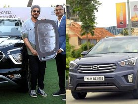 Shahrukh Khan Is the First Owner of New Hyundai Creta, Was Also the First to Own the Earlier Model