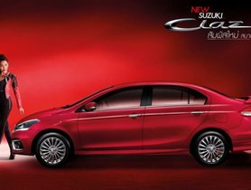 Thai-spec Suzuki Ciaz Gets 1.25-litre Petrol Engine and Styling Updates