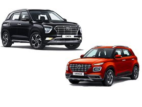 2020 Hyundai Creta vs Hyundai Venue - All Differences Highlighted