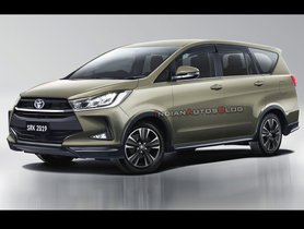 Refreshed Toyota Innova Crysta Could Launch In Coming Months - Details