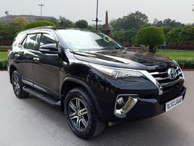 Used Toyota Fortuner 2.8 2WD 2017 AT for sale in New Delhi