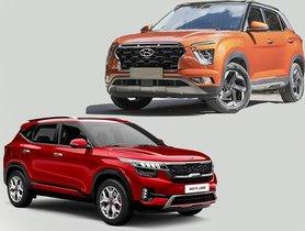 Base Kia Seltos Slightly Cheaper Than Entry-level 2020 Hyundai Creta, Here's the Complete Picture