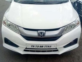Used 2015 Honda City S MT for sale in Tiruchirappalli