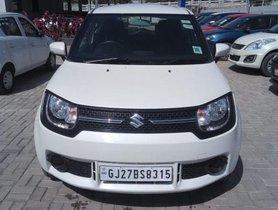 2017 Maruti Suzuki Ignis 1.2 Delta MT for sale in Ahmedabad