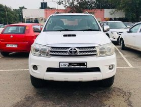 Used Toyota Fortuner, 2010 MT for sale in Chandigarh