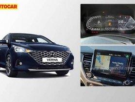 2020 Hyundai Verna Facelift Interior Revealed