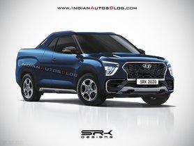 Here's What the Pickup Version of 2020 Hyundai Creta Would Look Like
