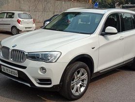 2014 BMW X3 xDrive20d xLine AT for sale in New Delhi