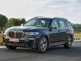 BMW X7 xDrive30d Launched at Rs 92.50 lakh