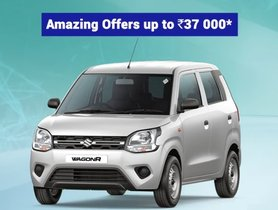 BS6 Maruti WagonR On Sale With Discounts Worth Rs 37,000