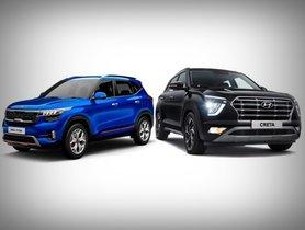 2020 Hyundai Creta vs Kia Seltos – Variant-wise Comparison