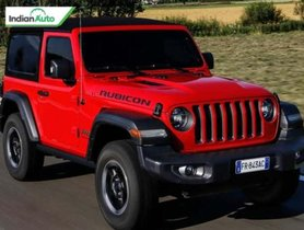 Jeep Wrangler Rubicon Sold Out In Record Time in India