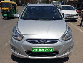 Used 2013 Hyundai Verna 1.6 EX VTVT MT in Bangalore