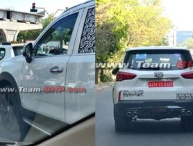 MG Gloster Full-size SUV Spied With Quad Exhausts