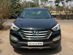 Used Hyundai Santa Fe 2014 AT for sale in Satara