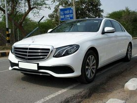 Used Mercedes Benz E Class 2017 AT in Coimbatore