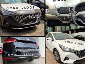New Look Hyundai Verna (Facelift) Reaches Dealers As 2020 Honda City Still Some Days Away