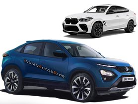 Tata Harrier Gets the BMW X6 Treatment in this Illustration, Looks Stunning