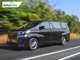 Toyota Vellfire TVC Released In India