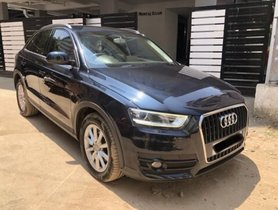 Used 2014 Audi Q3 2012-2015 AT for sale in Chennai